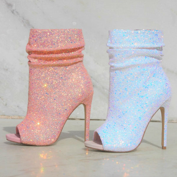 Affordable online boutique Spotlight bootie heels