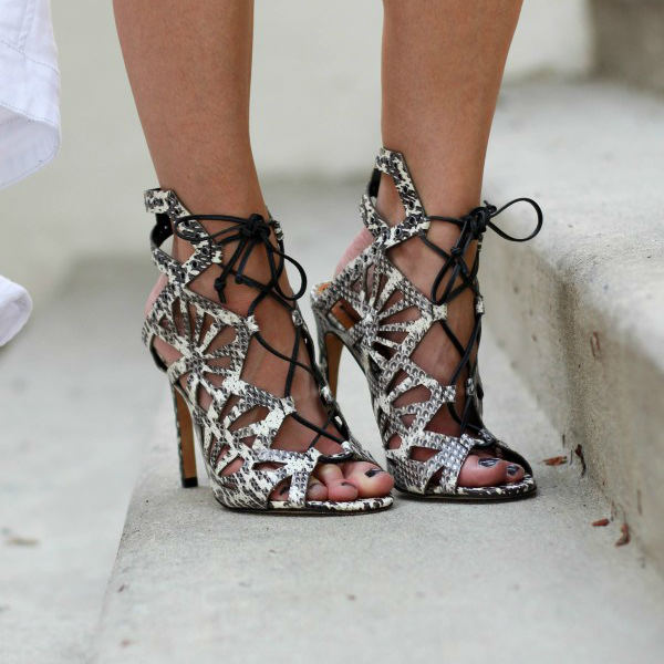 Helena Cut Out Sandals
