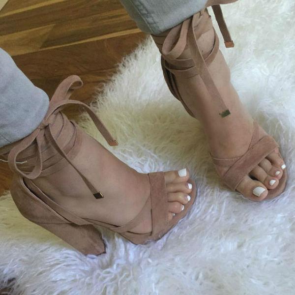 Platform Chunky Heels