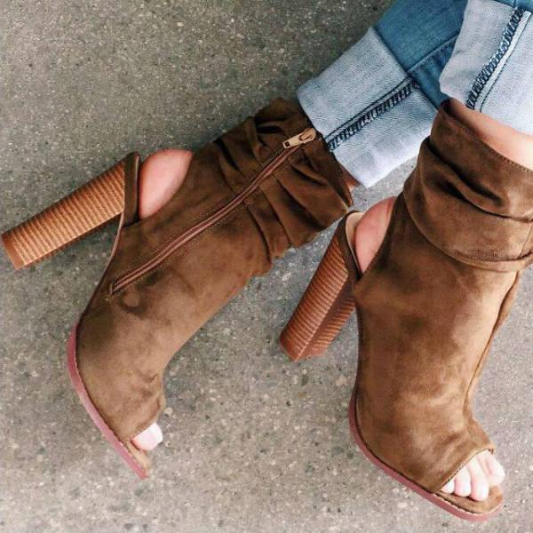 fashion retailer gojane chunky booties