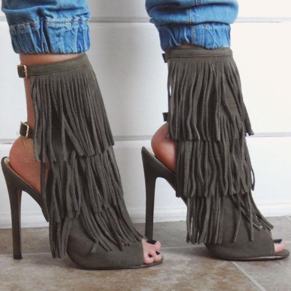 fashion retailer gojane fringe stiletto