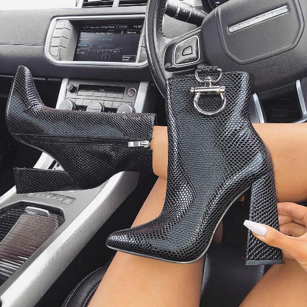 Side Zipper Booties