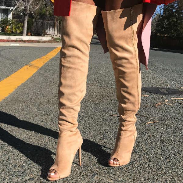 Side Zipper Boots