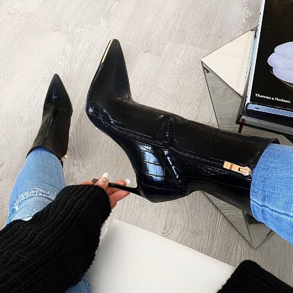Pointy Stiletto Booties