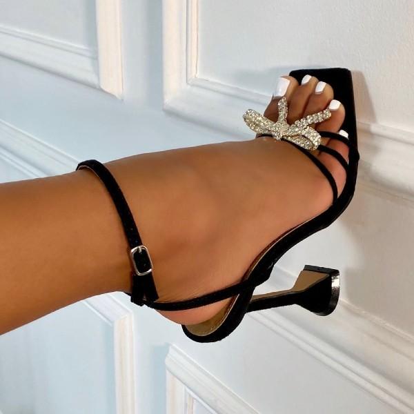 Diamante heel