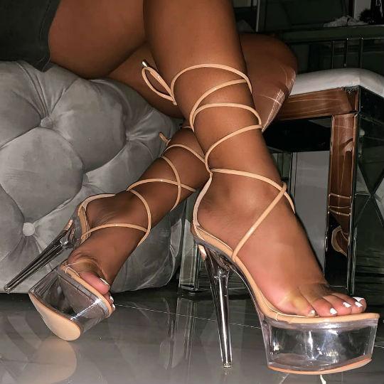 Platform Stiletto Heels